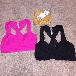 NEW - Free People Bralettes - XS and Small